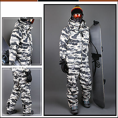 New Mens SOUTHPLAY Winter Premium Military Ski-Snowboard Jacket Or Pants_BJ107