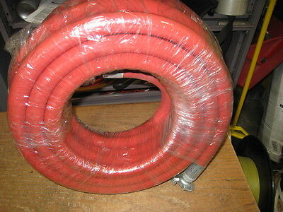 """3/4"""" JACKHAMMER Air Hose Assembly 300psi 50FT Red Color Clearance sale"""