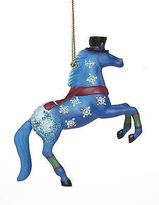 The Trail of Painted Ponies New 2015 JACK FROST PONY ORNAMENT 4046338 BNIB