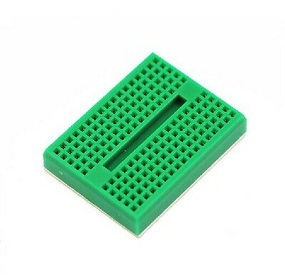 5pcs Green Solderless Prototype Breadboard 170 SYB-170 Tie-points for Arduino