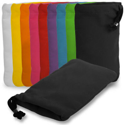 Soft Velvet Sleeve Pouch Bag Cover Carry Case For Sony Mobile Phones All Colours