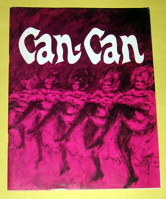 CAN-CAN ~ 1966 Atlanta Theater Production Program starring JANE MORGAN