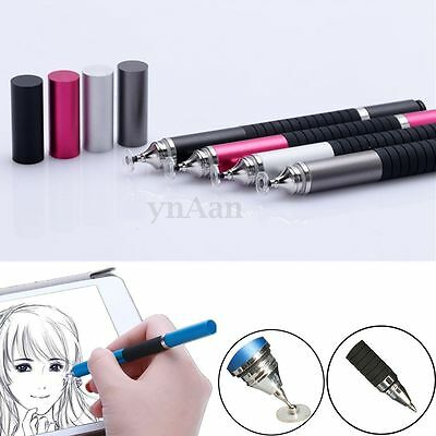 Universal 2in1 Precision Disc Touch Stylus Ballpoint Pen For Smart Phone Tablet