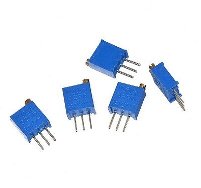 10pcs 3296 W High Precision Variable Resistor Potentiometer Trimmer 102 1K ohm