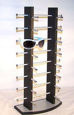 Sunglasses Rack  new 5 pair natural wooden sunglass display rack wood sunglasses