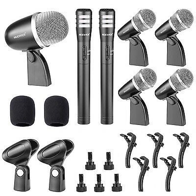 Neewer NW-7A Musical Instrument Wired Microphone Kit for Drum