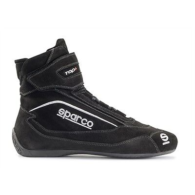Sparco Top SH-5 Racing Shoes, SFI FIA, Anti Slip, Blue, Euro Size 37