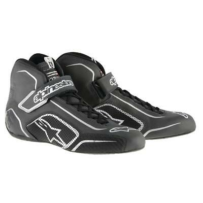 Alpinestars Tech 1-T Shoes, White/Red, 10.5