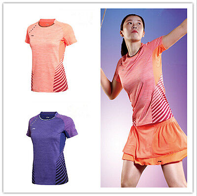 2015 World Championships  Women's Tops tennis/badminton Clothes Only T  shirts