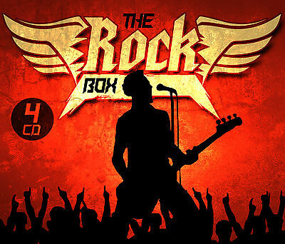 CD The Rock Box von Various Artists 4CDs