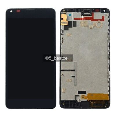 New Microsoft Lumia 640  LCD Display Touch Digitizer Glass Screen Assembly+Frame