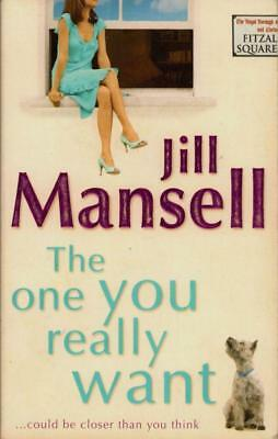 The One You Really Want(Paperback Book)Jill Mansell-VG