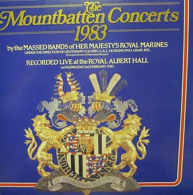 Massed Bands of Her Majesty's Royal Marines(Vinyl LP)The Mountbatten C-VG/Ex