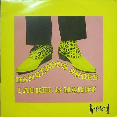 "Laurel And Hardy(12"" Vinyl)Dangerous Shoes-Upright-UPT 7-UK-Ex-/Ex+"