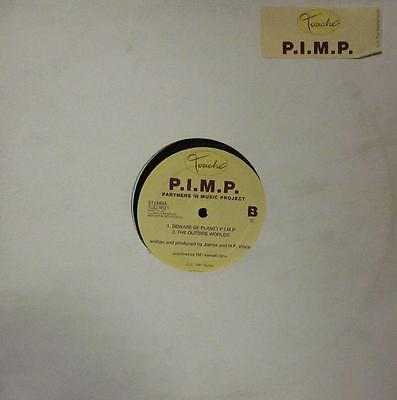 "P.I.M.P(12""Vinyl)First Encounters-Netherlands- STERMA TOU 9621-Touche-/VG"