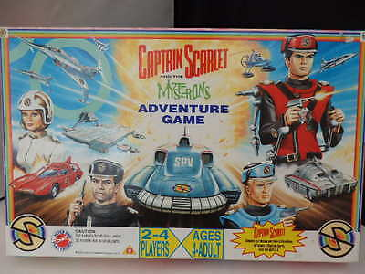 Captain Scarlett and the Mysterons Game
