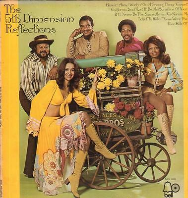 The 5th Dimension(Vinyl LP)Reflections-Bell-BELL 6065-US-1974-VG/VG+