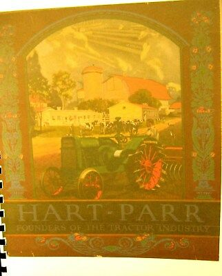1923 Hart-Parr Sales Manual All of the New Models as well as the old  67 Pgs.