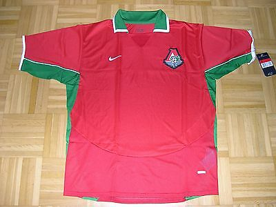 player Jersey Locomotive Moscow Home Orig Nike Size M L XL player issue Code 7