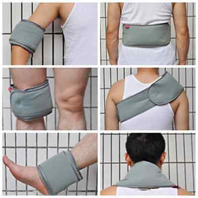 Adjustable Ice Hot Cold Pad Compress Wrap Knee Neck Back Ankle Leg Pack Cover