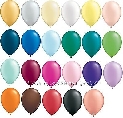 """10 Pearl 5"""" Qualatex Decorator Balloons Wedding Engagement Party Decorations"""