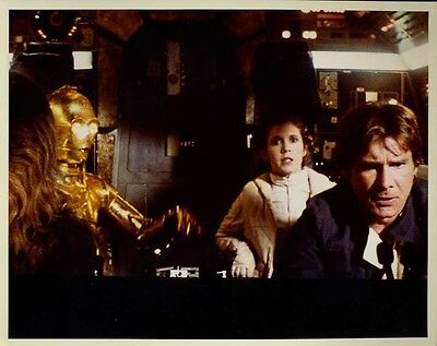 """Star Wars Empire Strikes Back Harrison Ford Carrie Fisher 8x10"""" Photo #Z1464"""
