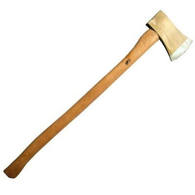 4Lb Felling Axe With Ash Wood Wooden Handle