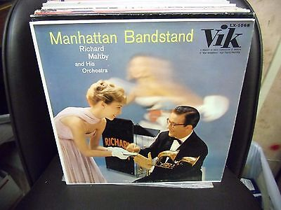 RICHARD MALTBY & HIS ORCH Manhattan Bandstand LP EX 1957 Vik Records LX-1068