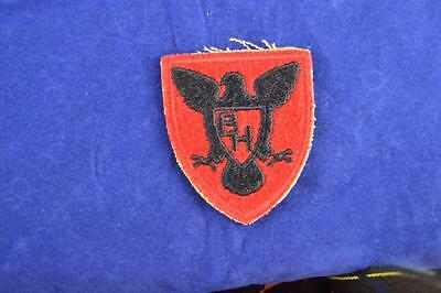Wwii Era Us Army Original Ww2 U.s. 86Th Infantry, Cut Edge Patch, No Glow