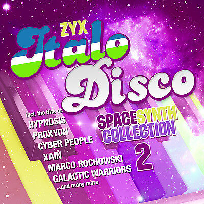 CD ZYX ITALO DISCO SPACESYNTH COLLECTION 2 by Various Artists 2CDs