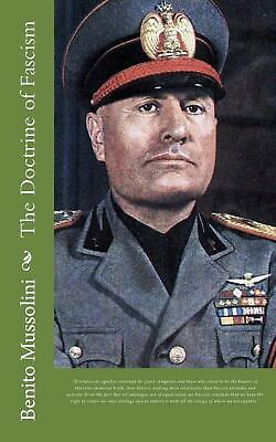 The Doctrine of Fascism by Benito Mussolini Paperback Book (English)