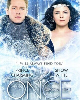 """Josh Dallas & Ginnifer Goodwin Snow Charming [Once Upon A Time] 10""""x8"""" Photo"""
