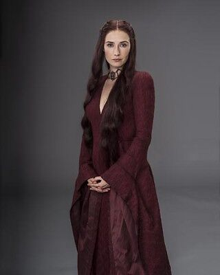 "Carice Van Houten Lady In Red Fire Hot [Game of Thrones] 8""x10"" 10""x8"" Photo"