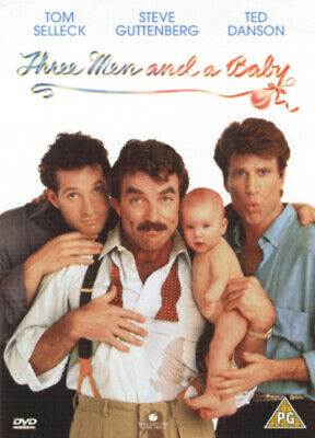 Three Men and a Baby DVD (2002) Tom Selleck, Nimoy (DIR) cert PG Amazing Value