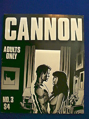 Wally Wood Cannon 3. 1st edition self-published  (1979), Over-sized paperback.
