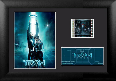 Film Cell Genuine 35mm Framed & Matted Disney Tron Legacy USFC5482 Spec Edition