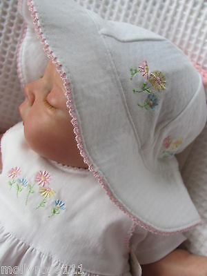 Carter's Baby Girl Cotton Hat & Sock Set  ~ Sweet Daisy Collection ~
