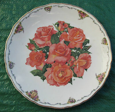Royal Albert Elizabeth Of Glamis Limited Edition Cabinet Plate Queen Mother