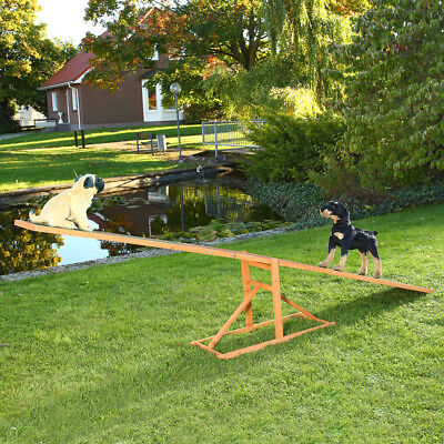 Hundewippe Agility Wippe Welpenspielzeug Training Hundesport Hund 3 m