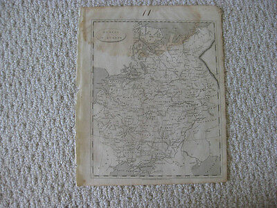 Antique 1804 Russia In Europe Moscow Crimea Arrowsmith & Lewis Copperplate Map