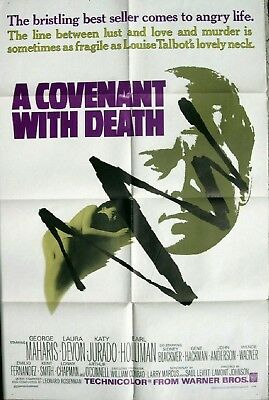 645 A Covenant with Death, original 1967 movie Poster
