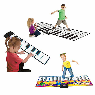 Giant Piano Keyboard Playmats for Party Dance Games Kids Fun Musical Foot Mat