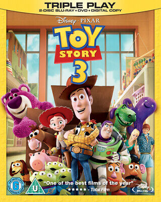 Toy Story 3 Blu-ray (2010) Lee Unkrich cert U 4 discs FREE Shipping, Save £s
