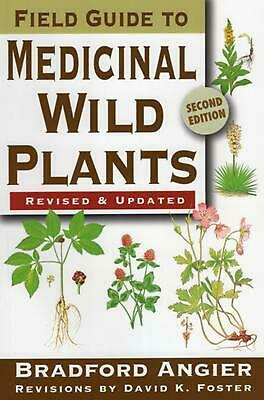 Field Guide to Medicinal Wild Plants by Bradford Angier (English) Paperback Book