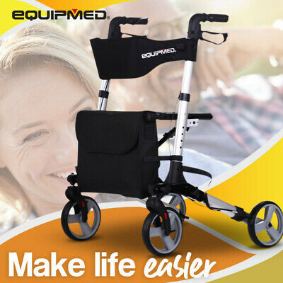NEW EQUIPMED Knee Walker Scooter- Mobility Alternative Crutches Wheelchair