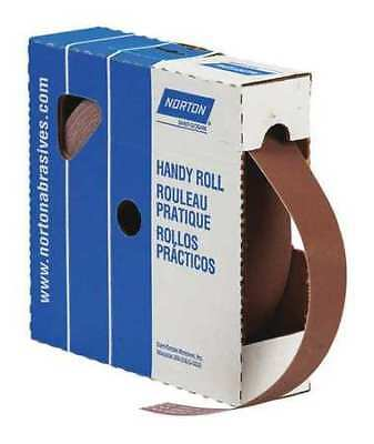 "NORTON 66261126266 Abrasive Roll,1""W x 150 ft. L,600G,Cloth"