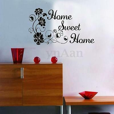 diy lettre mur sticker autocollant mural decoration salon chambre maison etanche eur 1 69. Black Bedroom Furniture Sets. Home Design Ideas