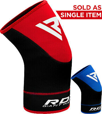 RDX Neoprene Brace Knee Support MMA Pad Guard Protector Gel Sport Work Cap Y