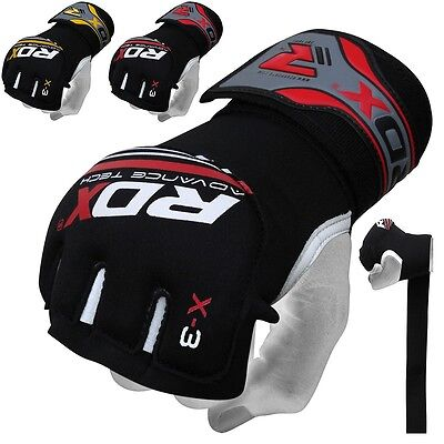 RDX Gel Hand Wraps Grappling Gloves MMA Boxing Mexican Punch Bag Muay Thai RY