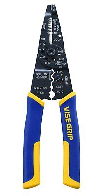 Irwin 2078309 Multi Tool Stripper/cutter/crimper - 8 Inch